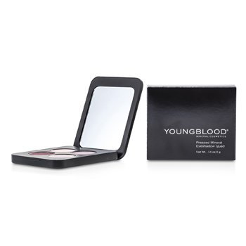 Youngblood Pressed Mineral Eyeshadow Quad - Vintage