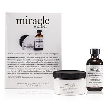 Philosophy Miracle Worker: Solution 60ml + Pads 60pads