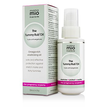 Tummy Rub Stretch Mark Oil