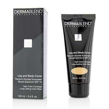 Leg & Body Cover SPF 15 (Full Coverage & Long Wearability) - Caramel