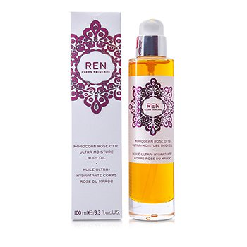 Ren Moroccan Rose Otto Ultra Moisture Body Oil