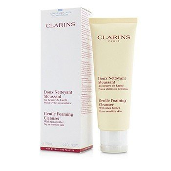 Clarins Gentle Foaming Cleanser with Shea Butter (Dry/ Sensitive Skin)