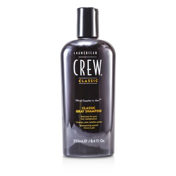 American Crew Men Classic Gray Shampoo (Optimal Maintenance For Gray Hair)