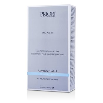 Priori Advanced AHA PRO Peel Kit (Salon Product) : Pre-Peel Solution + Multi-Layer Peeling Gel