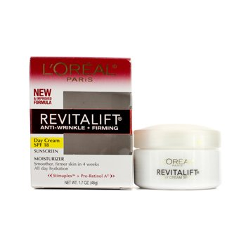 LOreal RevitaLift Anti-Wrinkle + Firming Day Cream SPF 18