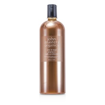John Masters Organics Zinc & Sage Shampoo With Conditioner