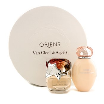 Van Cleef & Arpels Oriens Coffret: Eau De Parfum Spray 50ml + Body Lotion 150ml (Round Box)