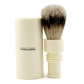 Truefitt & Hill Turnback Traveler Badger Hair Shave Brush - # Ivory