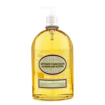 LOccitane Almond Cleansing & Soothing Shower Oil