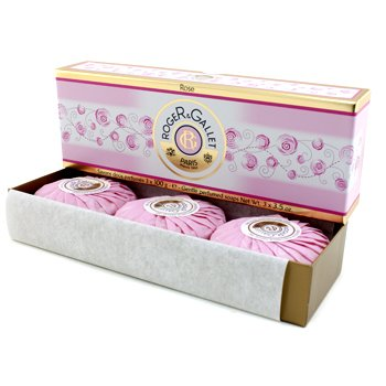 Roger & Gallet Rose Perfumed Soap Coffret