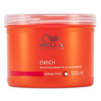 Wella Enrich Moisturizing Treatment For Dry & Damaged Hair (Normal/ Thick)