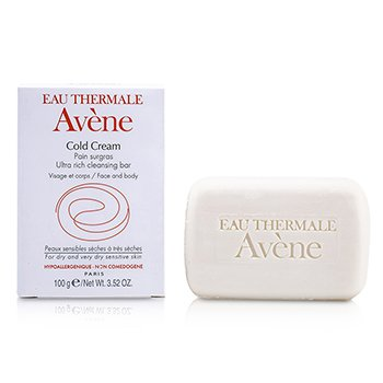 Avene Cold Cream Ultra Rich Cleansing Bar (For Dry & Very Dry Sensitive Skin)