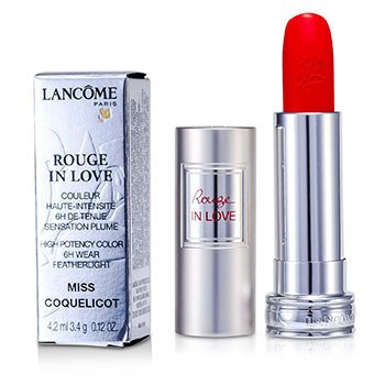 Lancome Rouge In Love Lipstick - # 146B Miss Coquelicot