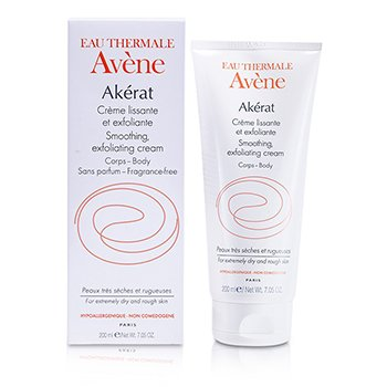 Avene Akerat Smoothing Exfoliating Cream (For Extremely Dry and Rough Skin)