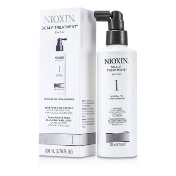 Nioxin System 1 Scalp Treatment For Fine Hair, Normal to Thin-Looking Hair