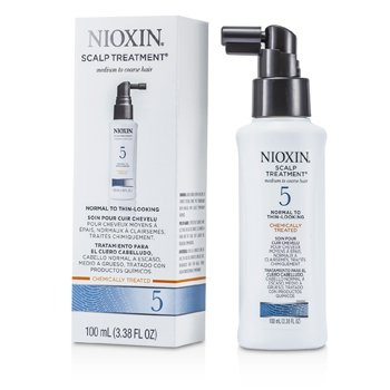 Nioxin System 5 Scalp Treatment For Medium to Coarse Hair, Normal to Thin-Looking Hair
