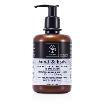 Apivita Moisturizing Hand & Body Lotion with Olive and Honey