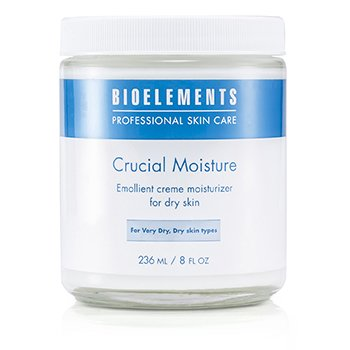 Bioelements Crucial Moisture (Salon Size, For Dry Skin)