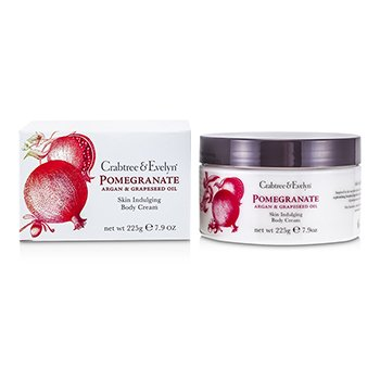 Crabtree & Evelyn Pomegranate, Argan & Grapeseed Body Cream