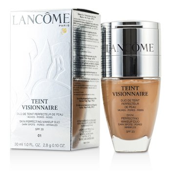 Lancome Teint Visionnaire Skin Perfecting Make Up Duo SPF 20 - # 01 Beige Albatre