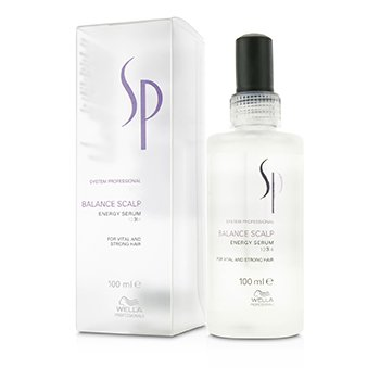 Wella Wella SP Balance Scalp Energy Serum (For Vital and Strong Hair)