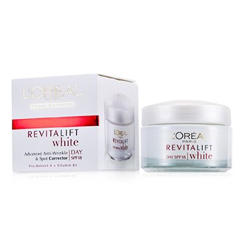 LOreal Dermo-Expertise RevitaLift White Day Cream SPF 18
