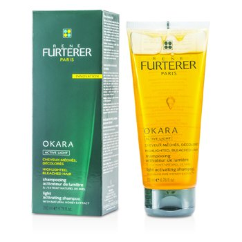 Rene Furterer Okara Light Activating Shampoo (For Highlighted, Bleached Hair)
