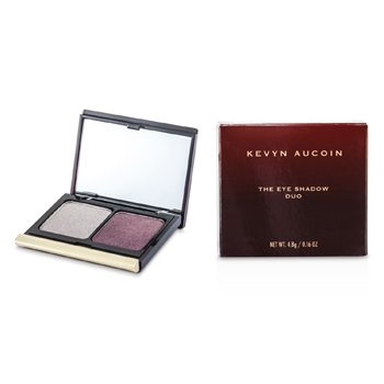 Kevyn Aucoin The Eye Shadow Duo - # 201 Antique Silver/ Plum Shimmer