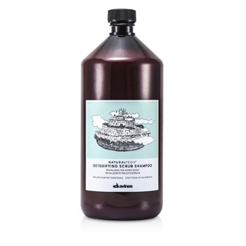 Davines Natural Tech Detoxifying Scrub Shampoo (For Atonic Scalp)