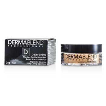 Dermablend Cover Creme Broad Spectrum SPF 30 (High Color Coverage) - Pale Ivory