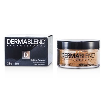 Dermablend Loose Setting Powder (Smudge Resistant, Long Wearability) - Warm Saffron