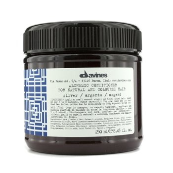 Davines Alchemic Conditioner Silver (For Natural & Coloured Hair)