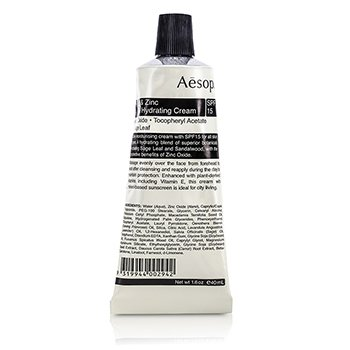 Aesop Sage & Zinc Facial Hydrating Cream SPF15