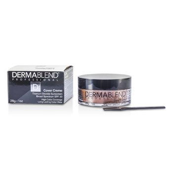 Dermablend Cover Creme Broad Spectrum SPF 30 (High Color Coverage) - Toasted Brown