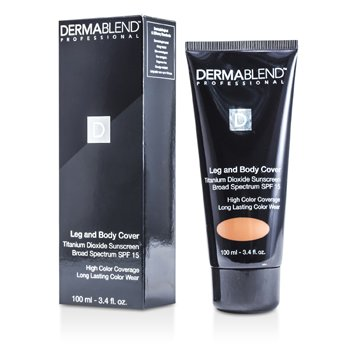 Dermablend Leg & Body Cover SPF 15 (Full Coverage & Long Wearability) - Dark