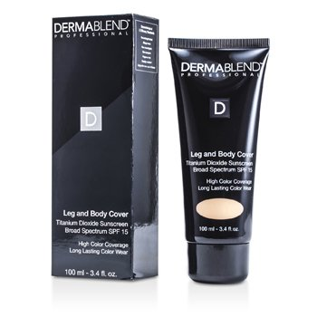 Dermablend Leg & Body Cover SPF 15 (Full Coverage & Long Wearability) - Tawny