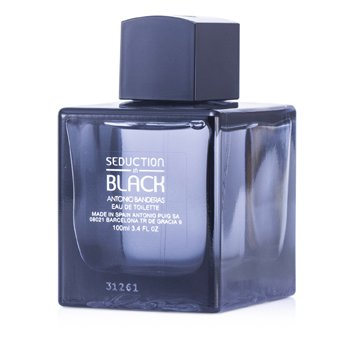 Antonio Banderas Seduction in Black (Black Seduction) Eau De Toilette Spray