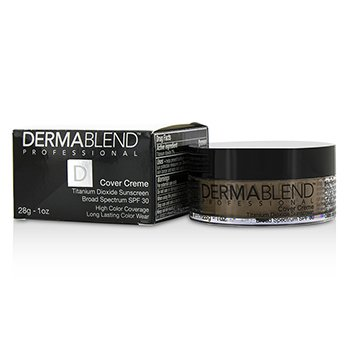 Dermablend Cover Creme Broad Spectrum SPF 30 (High Color Coverage) - Cafe Brown