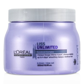 LOreal Professionnel Expert Serie - Liss Unlimited Smoothing Masque (For Rebellious Hair)