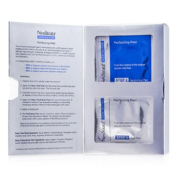 Neostrata Skin Active Perfecting Peel (3 Months Supply): 13x Peel Pads 1.5ml, 13x Neutralizer Pads 1.5ml