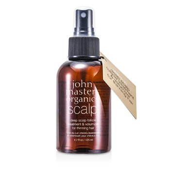 John Masters Organics Deep Scalp Follicle Treatment & Volumizer (For Thinning Hair)