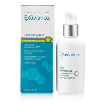 Exuviance Sheer Refining Fluid SPF 35 - For Oily/ Acne Prone Skin