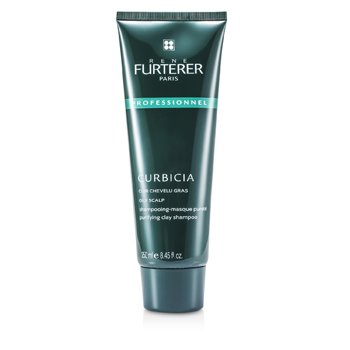 Rene Furterer Curbicia Purifying Clay Shampoo - For Oily Scalp (Salon Product)