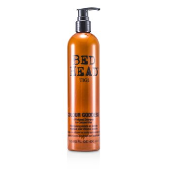Tigi Bed Head Colour Goddess Oil Infused Shampoo (For Coloured Hair)