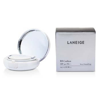 Laneige BB Cushion Foundation SPF 50 With Extra Refill - # No. 21 Natural Beige