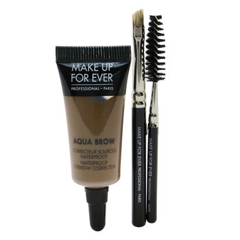 Make Up For Ever Aqua Brow Kit - #25 Ash