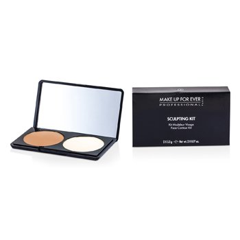 Make Up For Ever Sculpting Kit - # 2 (Neutral Light)