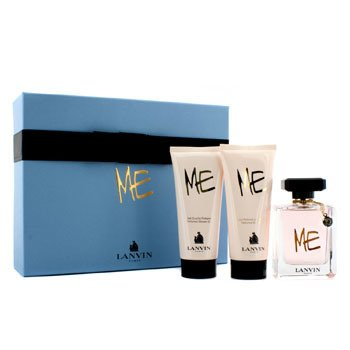 Lanvin Me Coffret: Eau De Parfum Spray 80ml + Body Lotion 100ml + Shower Gel 100ml