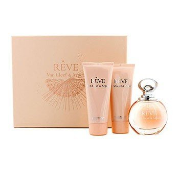 Van Cleef & Arpels Reve Coffret: Eau De Parfum Spray 100ml + Body Lotion 100ml + Shower Gel 100ml