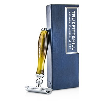 Truefitt & Hill Wellington Double Edged Razor - Horn